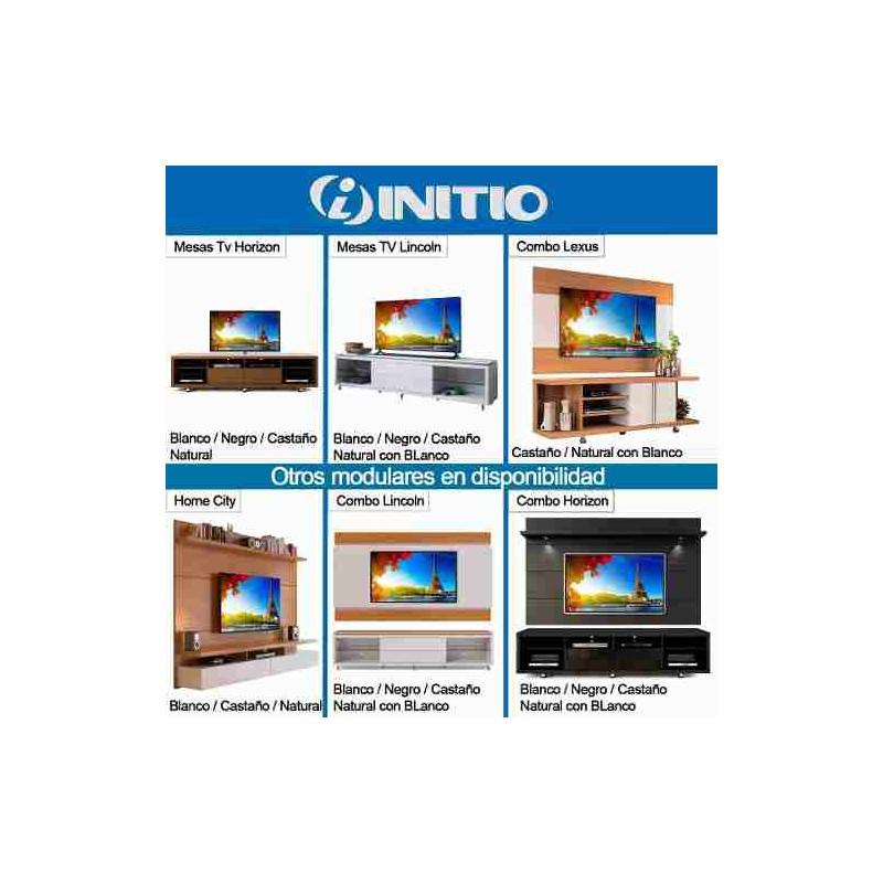 Panel mueble tv led lcd 50 60 pulgadas 2 4 soporte lincoln for Mesa para tv de 50 pulgadas
